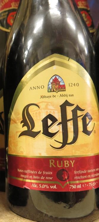 Leffe - ( Bière Ruby ) - 379 379_le10