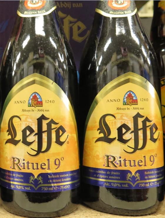 Leffe - ( Bière Blonde Rituel 9° ) - 380 380_le10