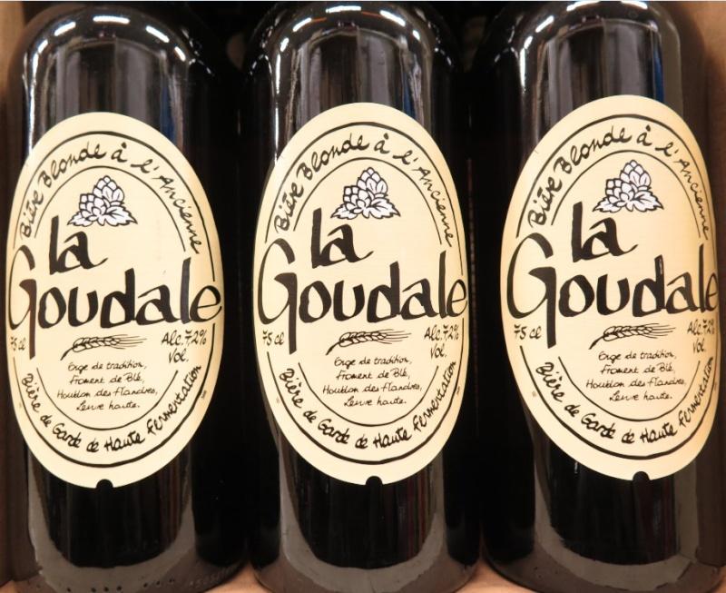 La Goudale - ( Bière Blonde ) - 383 383_la10