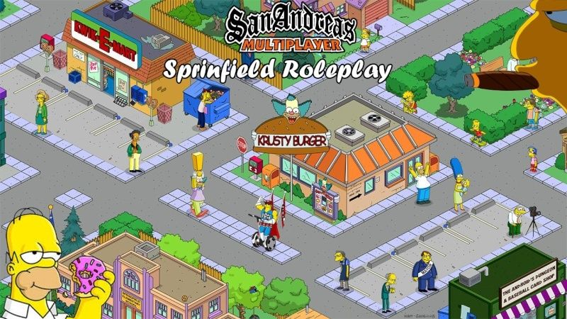 Springfield Roleplay SAMP