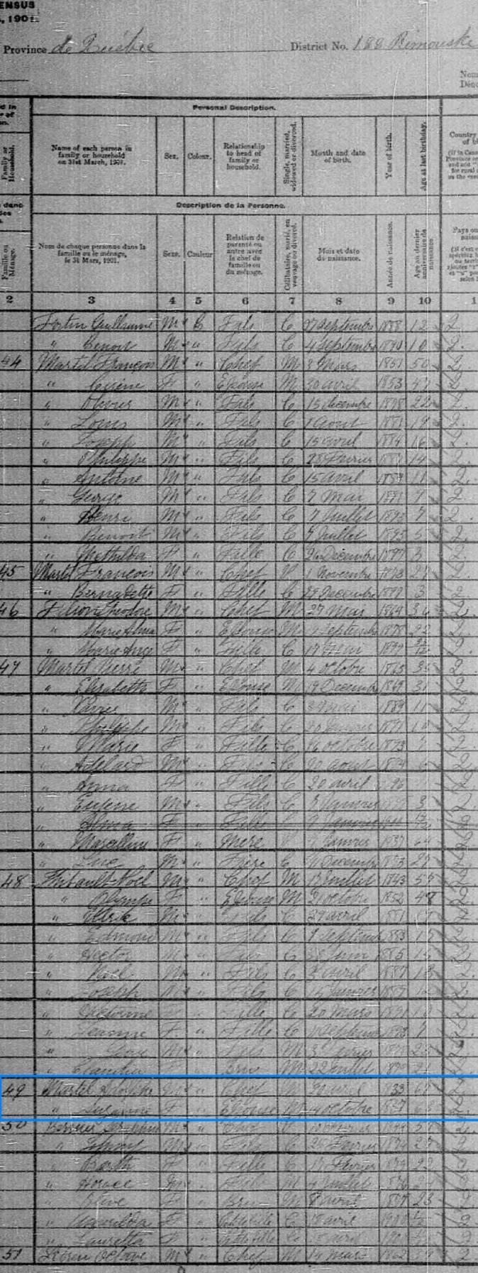 Adolphe Martel et Suzanne Deschênes (Miville) - Page 2 Adolph10