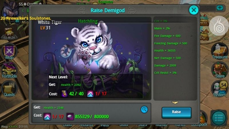 Demigod White Tiger Image10