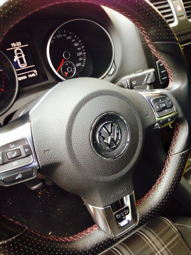 Golf 6 GTD Dsg Gris carbonne 5P 11/2009 Image18