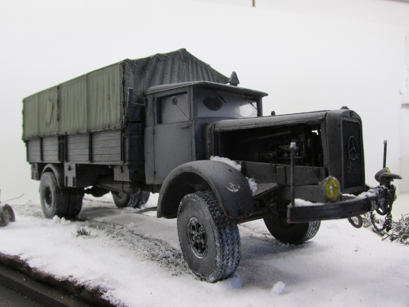 Mercedes l 6500  Camion32