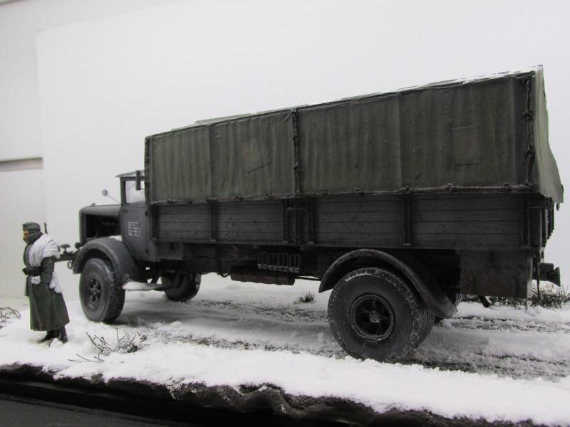 Mercedes l 6500 en hiver  PSP 1/35 Camion49