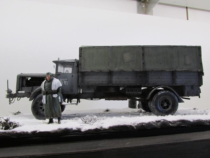 Mercedes l 6500 en hiver  PSP 1/35 Camion50