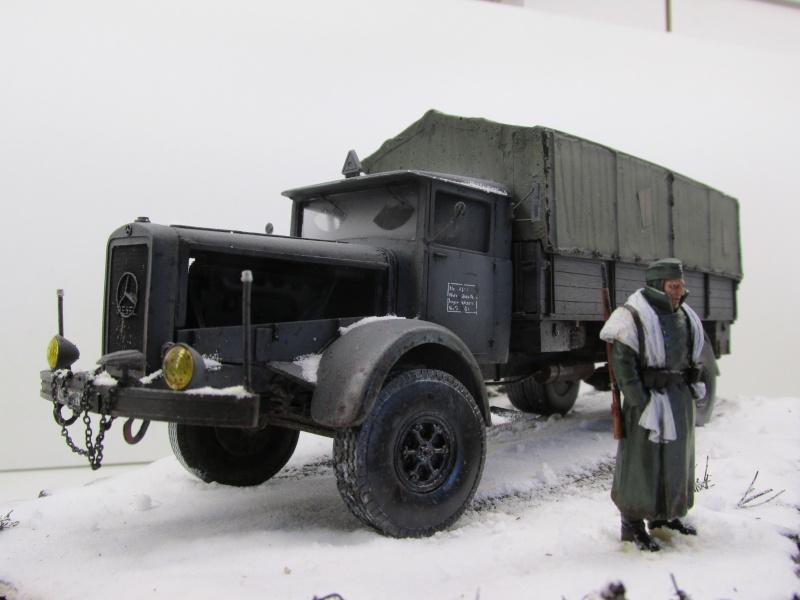 Mercedes l 6500 en hiver  PSP 1/35 Camion51