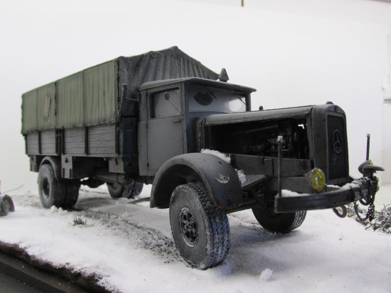 Mercedes l 6500 en hiver  PSP 1/35 Camion52