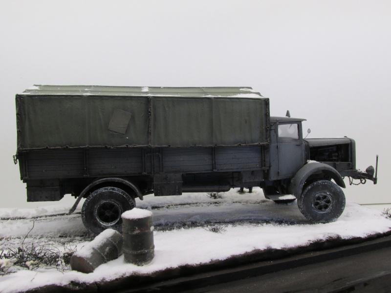 Mercedes l 6500 en hiver  PSP 1/35 Camion53