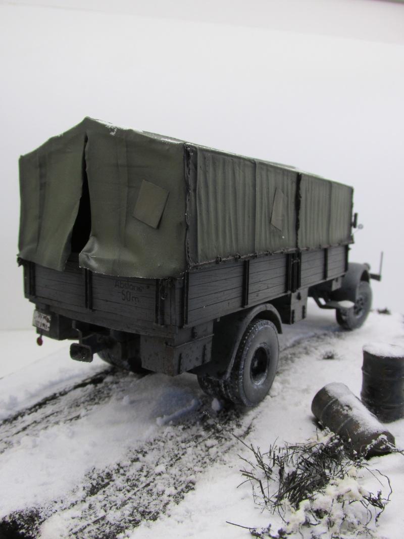 Mercedes l 6500 en hiver  PSP 1/35 Camion54