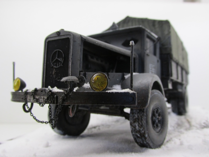 Mercedes l 6500 en hiver  PSP 1/35 Camion55