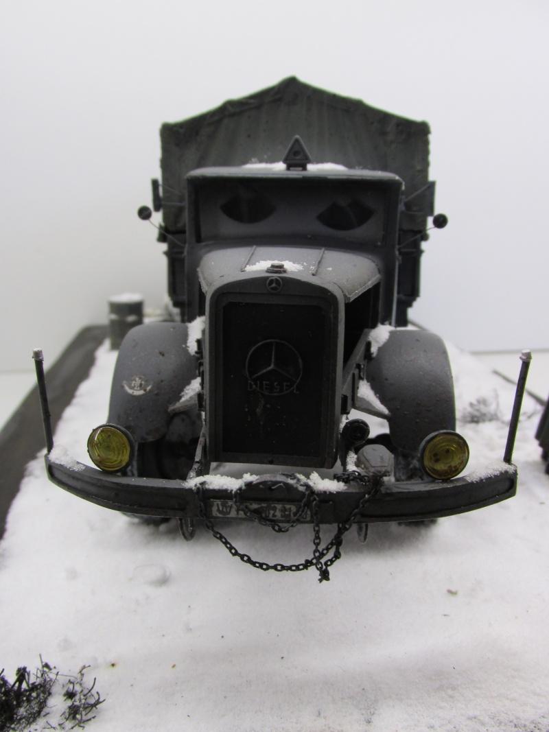 Mercedes l 6500 en hiver  PSP 1/35 Camion56