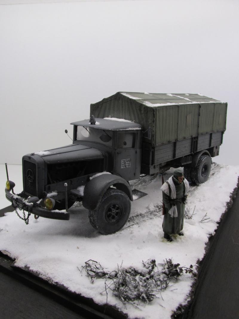 Mercedes l 6500 en hiver  PSP 1/35 Camion57