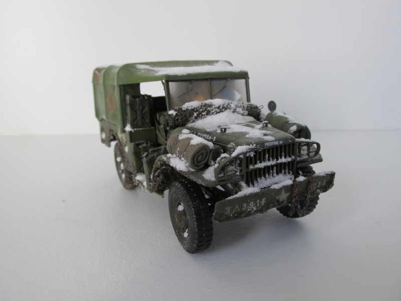 Dodge en hiver - ITALERI 1/35 + PHOTODECOUPE EDUARD - Page 4 Dodge_25