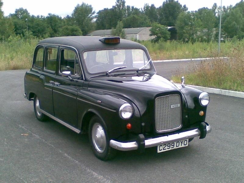 Il Taxi Londinese, si aggiornerà 03092010