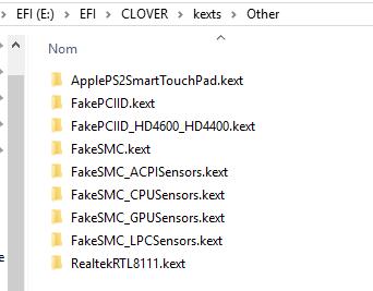 Yosemite 10.10.5 / Windows 10 sur ASUS N550JK avec boot clover Captur11