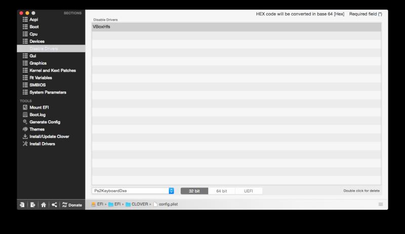 Yosemite 10.10.5 / Windows 10 sur ASUS N550JK avec boot clover Captur22