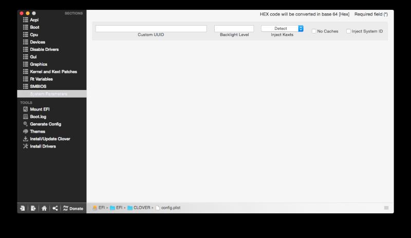 Yosemite 10.10.5 / Windows 10 sur ASUS N550JK avec boot clover Captur26