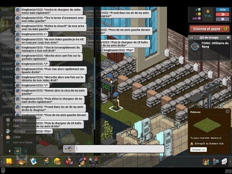 Rapport d'entraînement du 11/11/15 Entrai15