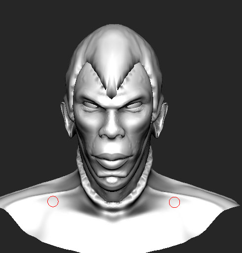 Ambient Occlusion in MeshMolder Capace10