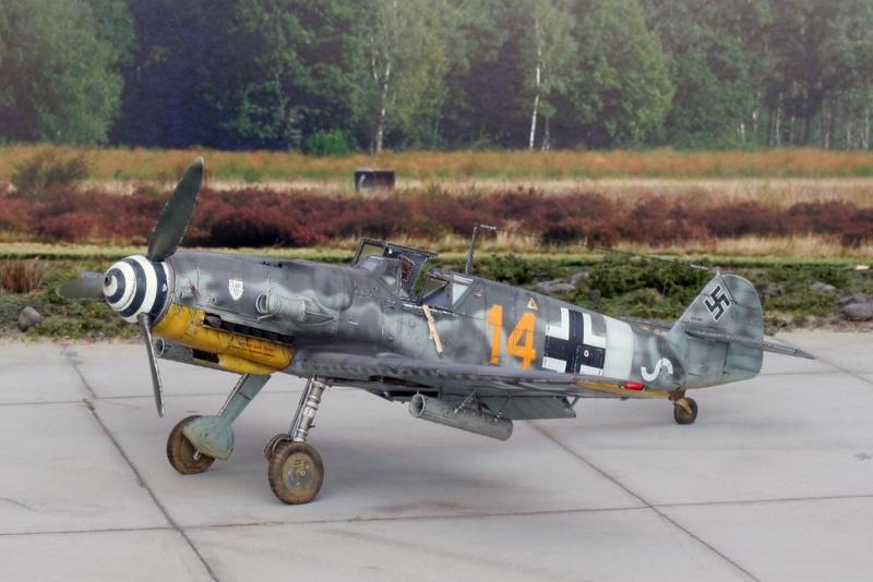 Avion - Bf 109G-6 eduard 1:48 Img_1811
