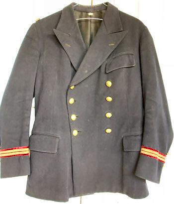 Uniforme Enseigne de Vaisseau 1ere Classe spécialité Santé WW2 Veste_10
