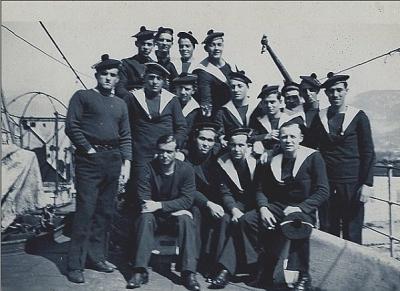 Image tirée de l'almanach du Marin 1943 à Marseille Vichy10