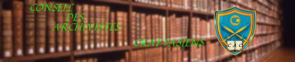 Comité des Archivistes de Craftasia