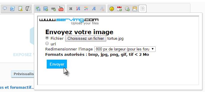 """Tutoriel pour insérer une image """"By Smithz"""" D10"""