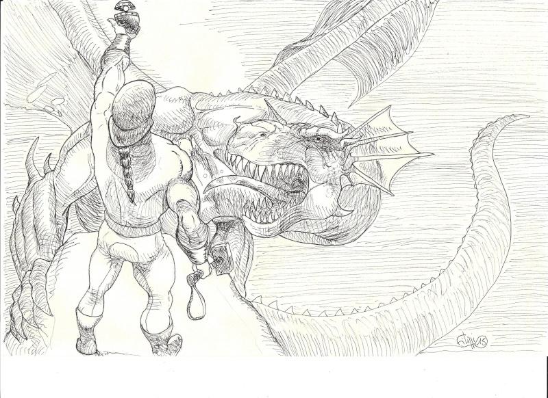 Un petit dragon Dragon10