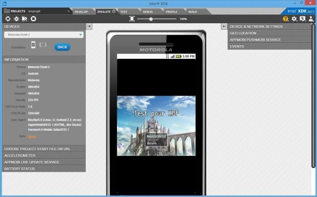 uploader en Android puis en APK Captur10