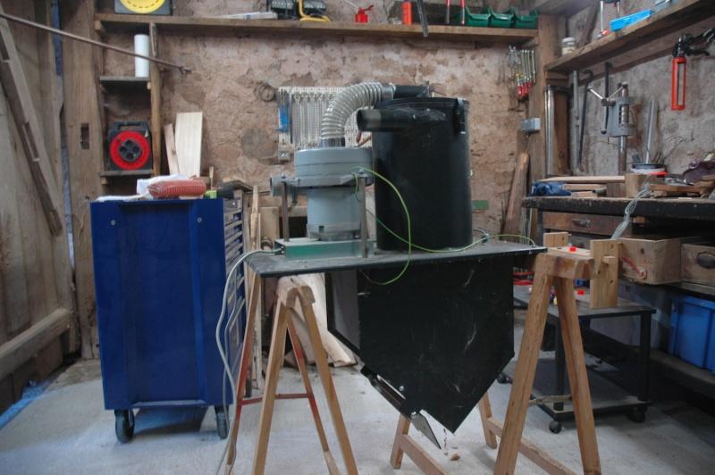 Cyclone à partir d'un aspirateur à granulés de bois : une astuce intéressante ? Dsc_0110