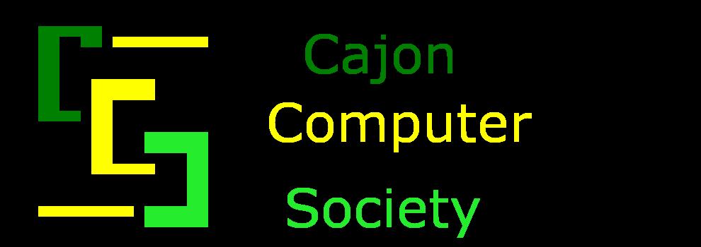 Cajon Computer Society