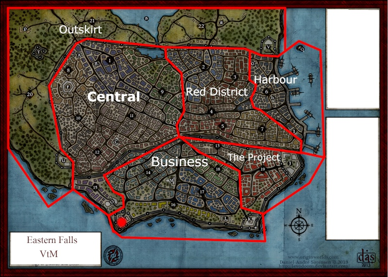 Get to know the city (in progress) Map12