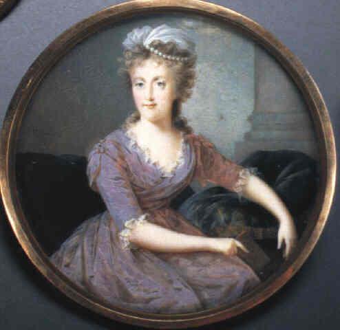 Portraits de Marie-Caroline, Reine de Naples, soeur de Marie-Antoinette - Page 2 1790ca10