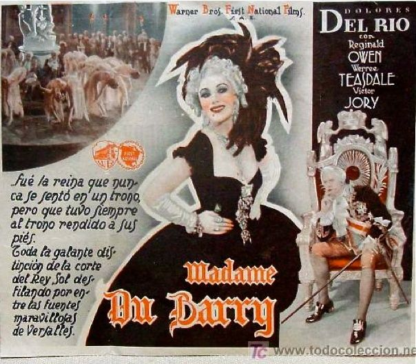 Madame du Barry de William Dieterle (1934) avec Anita Louise Madame10