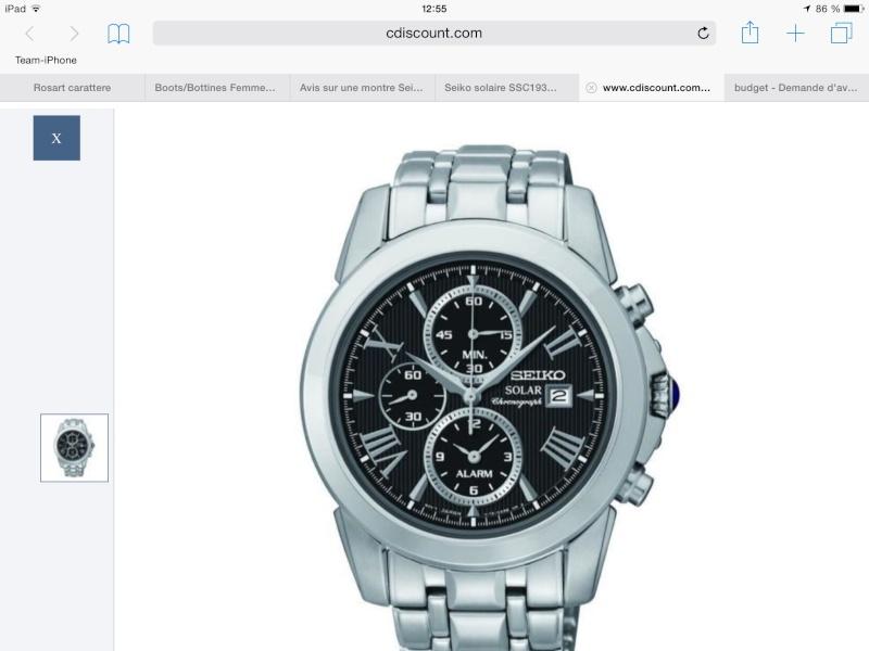 Avis sur une montre Seiko Image10