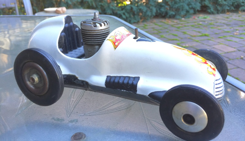 Vintage Real McCoy metal tether racer Image25