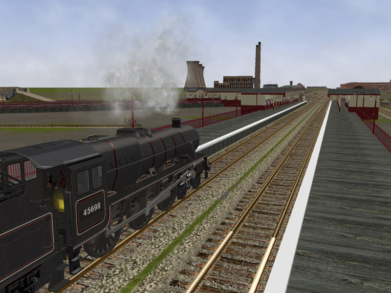 The Oldham Loop Line. Middle12
