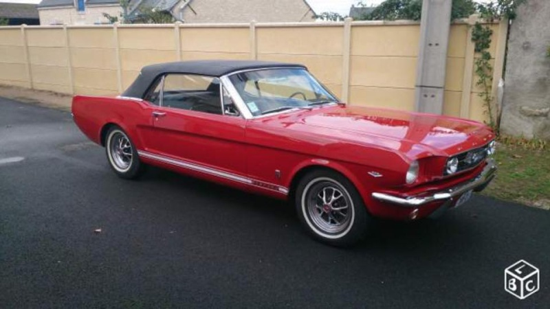 Mustang GT 1966 Convertible  12108910