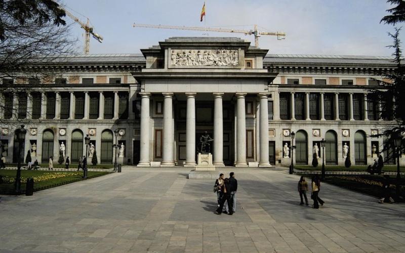 Aspecto del Museo del Prado Prado13