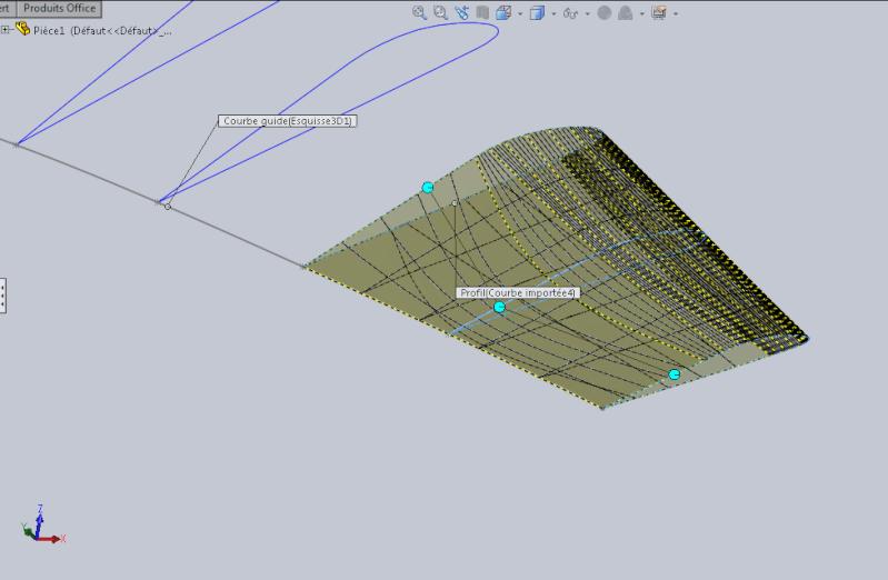Création d'une pale d'hélice Captur12