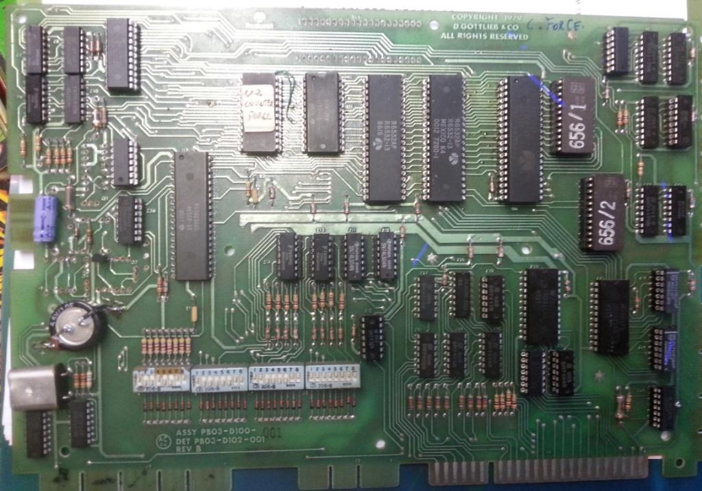 Counter Force : Carte CPU Screen34