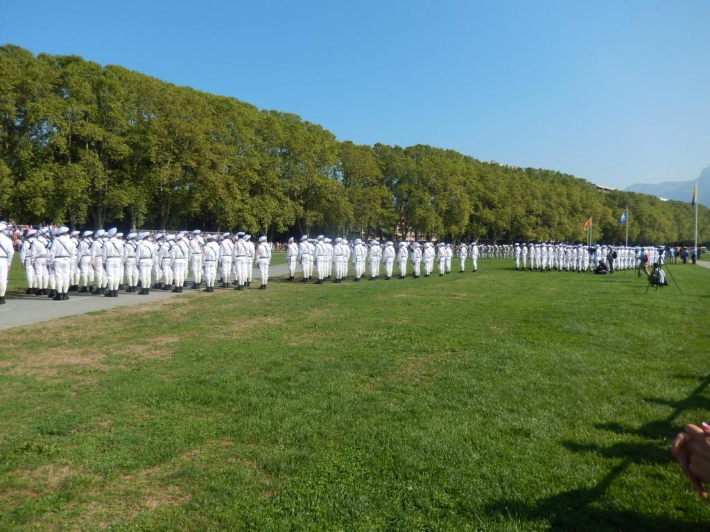 [ Histoire et histoires ] Passation de commandement au 27e bataillon des chasseurs Alpin à Annecy 00213