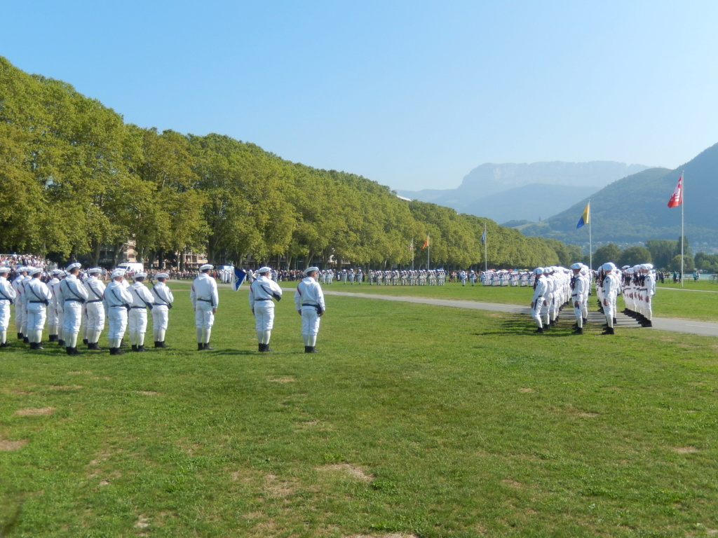 [ Histoire et histoires ] Passation de commandement au 27e bataillon des chasseurs Alpin à Annecy 00410