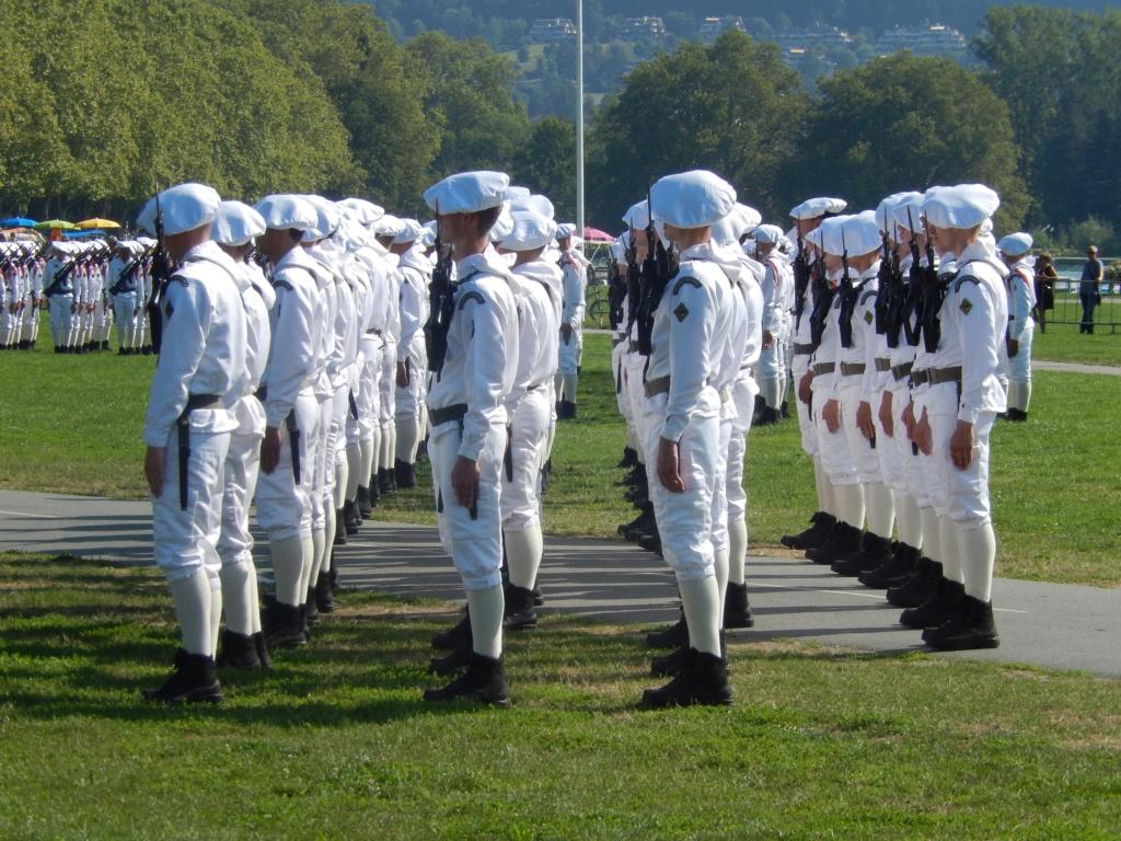[ Histoire et histoires ] Passation de commandement au 27e bataillon des chasseurs Alpin à Annecy 00612