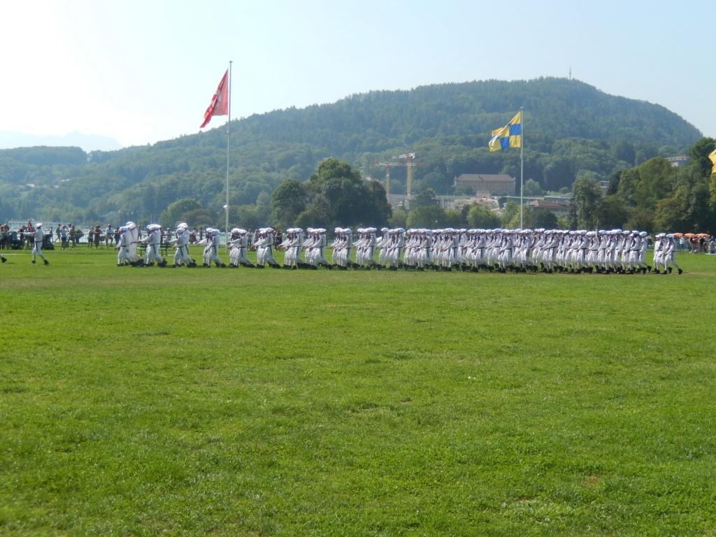 [ Histoire et histoires ] Passation de commandement au 27e bataillon des chasseurs Alpin à Annecy 01512