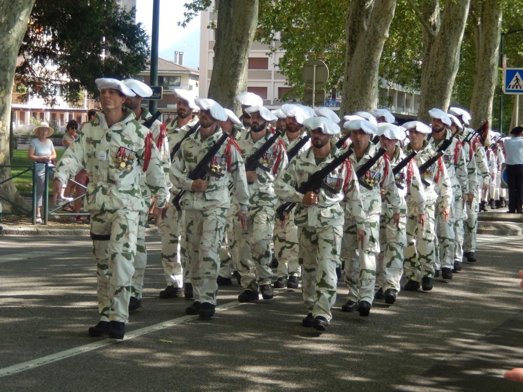 [ Histoire et histoires ] Passation de commandement au 27e bataillon des chasseurs Alpin à Annecy 01910