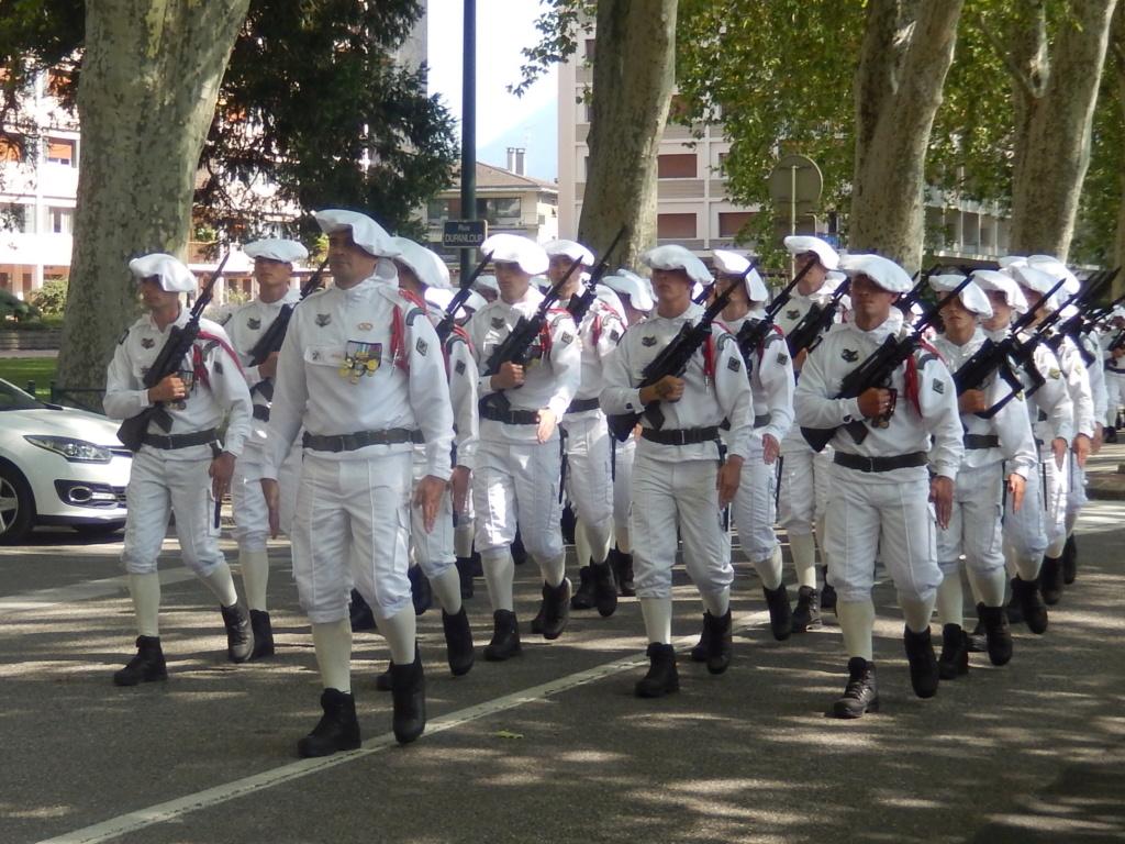 [ Histoire et histoires ] Passation de commandement au 27e bataillon des chasseurs Alpin à Annecy 02010