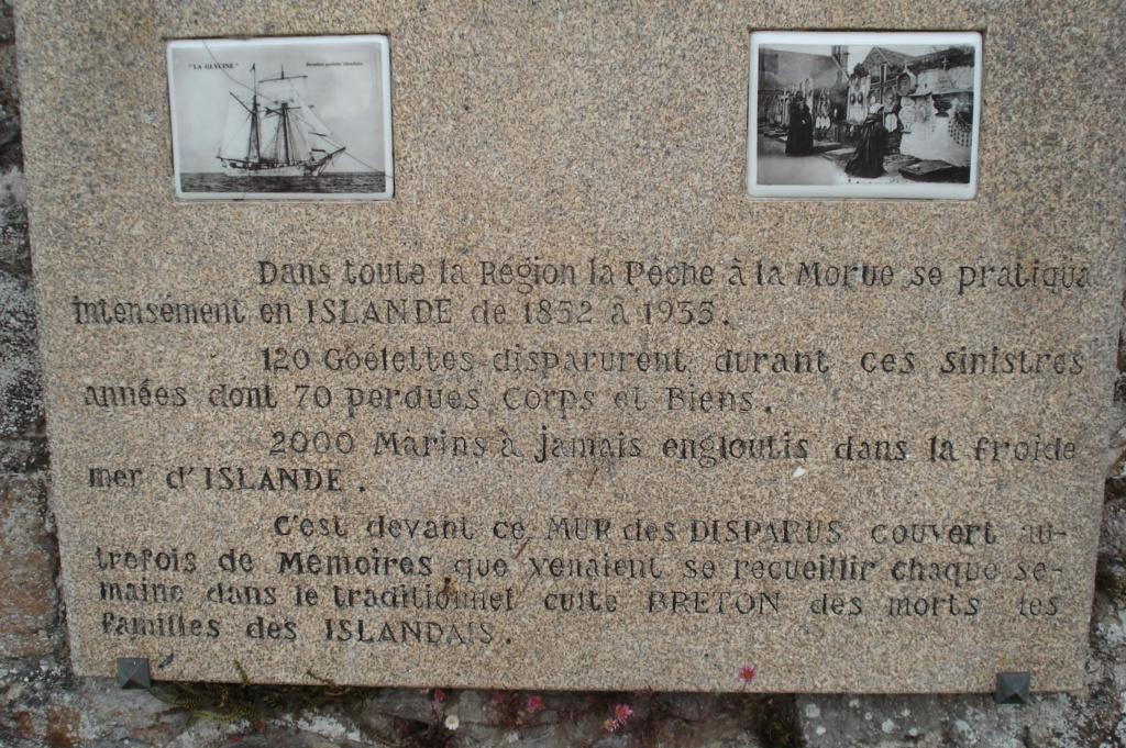 [ Histoire et histoires ] Mémoire de la pêche en Islande .Mur des disparus. 24810